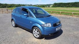 Audi A2 1.4 SE 5dr £890 p/x considered LONG MOT, GREAT LITTLE RUNNER. 2002 (02 reg), Hatchback