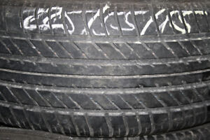 "Several 14"" and 15"" all season tires $5 and up"