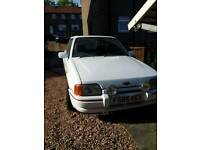 Xr3i 1989 needs resto. All there runs well.
