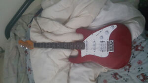 Typhoon Red Electric Guitar