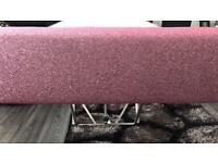 Pink glitter window Pelmet