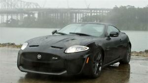 2012 Jaguar XKR XKR-S -- 550 H.P MONSTER -- BLACK ON BLACK