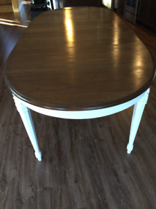 Fully Refinished Dining Table Seats 10 Comfortably $500 o.b.o.