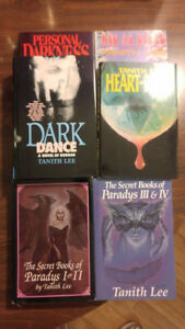 6 Books by Tanith Lee - Horror