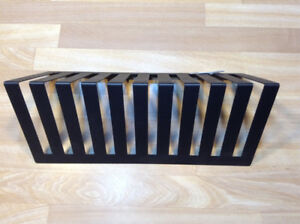 STURDY METAL ORGANIZER IS GOOD FOR PAPERS OR PLATES