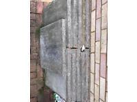 11x 2x2 foot paving slabs