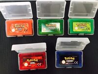 Pokemon Games for Game Boy Advance in Very good Condition