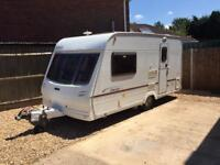Lunar Stellar 400 2 berth 2003 top of the range model with full awning and motor mover