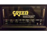 GREEN Matamp GT200 Bass head and Cab