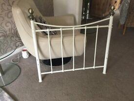Single bedframe no mattress