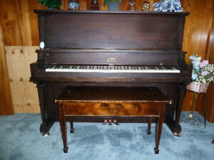 Antique Upright Beethoven Piano
