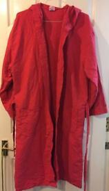 Microfiber bathrobe xl