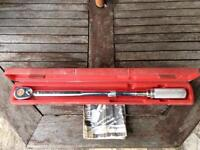 """SNAP ON 1/2"""" Drive Click Type Torque Wrench"""