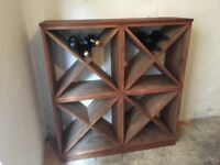 Good quality wine storage cubes, 4 to get her and one single still boxed unused