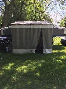 Jayco tent trailer with add a room
