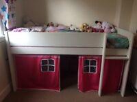 Childrens Bed - single mid sleeper