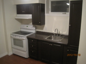 1 BEDROOM Basement apartment Everything INCLUDED---AVAIL SEPT 1