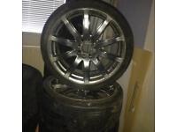 "17"" universal alloy wheels"