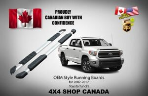 OEM STYLE RUNNING BOARD FOR TOYOTA TUNDRA 2007-2017