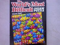 Clown fish jigsaw in sealed box NEW.... £1.50