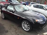 2007 07 Mazda MX-5 2.0i Sport 2 DOOR IN BLACK WITH ONLY 38000 MILES