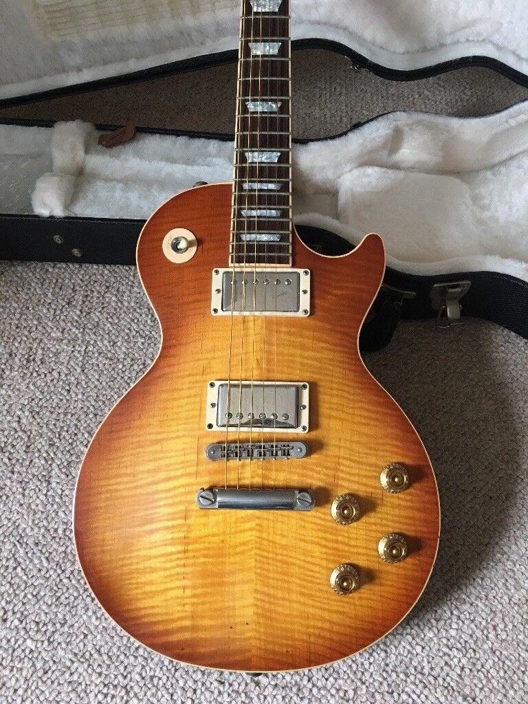 Honeyburst Gibson Les Paul