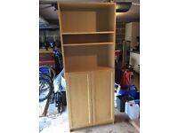 Ikea Billy Bookshelf with doors
