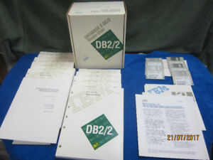 Vintage IBM DB2 for OS/S, single user V 1.0