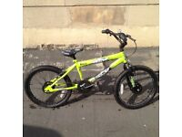 Boys BMX Bike Green Flite Panic 20 inch wheel suitable for 7-14 years good used condition £45 ono