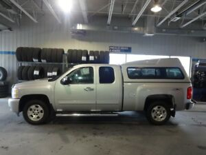 2011 Chevrolet SILVERADO 1500 4WD EXTENDED CAB LT