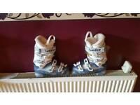 Female ski boots