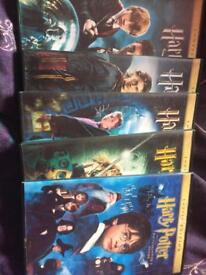 Harry Potter 1-5 years