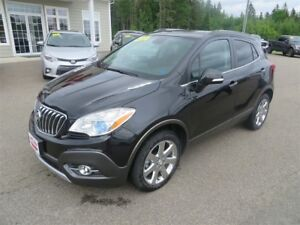 2016 Buick Encore AWD, NAVIGATION, HTD LEATHER, SUNROOF!!