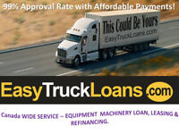 EASY TRUCK LOANS-LOWEST INTEREST RATES AND MONTHLY PAYMENTS