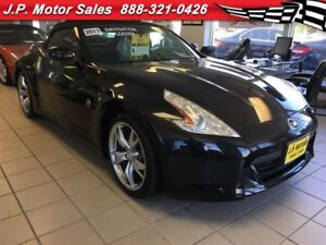 2011 Nissan 370Z Manual, Navigation, Leather,