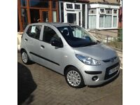 08 HYUNDAI i10 1.0. 94000 miles, FULL service history, ALL old MOTs. 2 owners