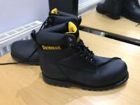 Dewalt safety boots brand new