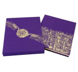 Harry Potter and the philosophers stone deluxe illustrated slipcase edition