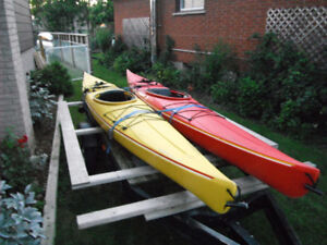 Trade my Two Perception 14' Kayaks for Composite Canoe