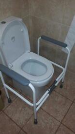 Toilet frame,