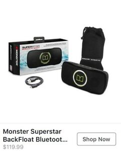 Monster Superstar Bluetooth Waterproof Speaker *NEW