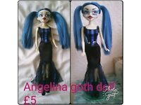 Bleeding Edge Goth doll