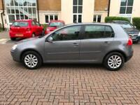 2008 Volkswagen Golf 1.9TDI ( 105PS ) Match - 12 VW SERVICE STAMPS - NEW CAMBELT