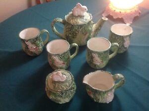Rabbit patch tea servive
