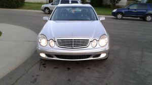 2005mercedes cdi turbo diesel