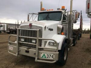 2003 Kenworth T800 tandem log truck