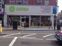 Oxfam Shop Volunteer
