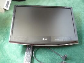 "LG Flatron M2262D 22"" 1080p HD TV/PC Monitor"