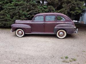 1947 Canadian Mercury 114X Super Deluxe 4 door sedan