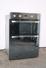 Hotpoint S/S Built-In Double Oven/Cooker Digital Display Good Condition 12 Month Warranty